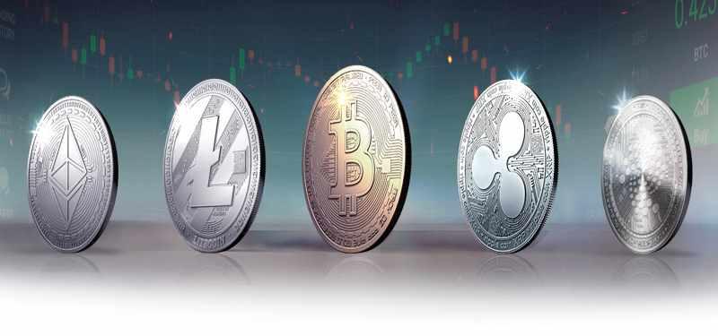 Cryptocurrencies - Bitcoin, Dash, Ethereum