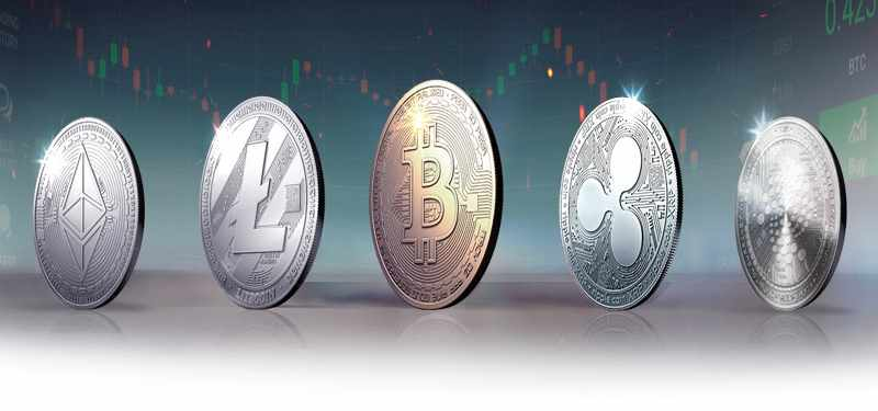 Cryptocurrencies - Bitcoin, Dash, Ethereum
