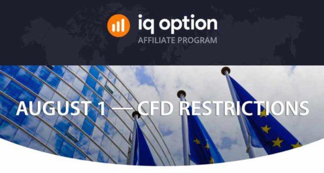 01 de agosto - Restrições CFD