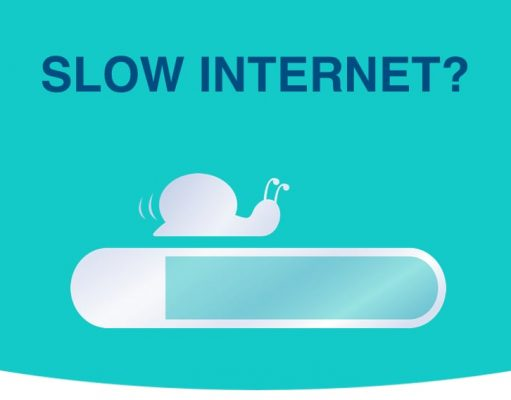solutions for slow internet - snail